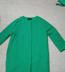 RESERVED zeleni kaput, novo