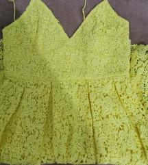 HM žuta haljinica