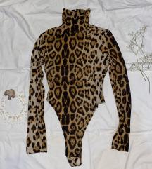 Leopard print bodi rolka