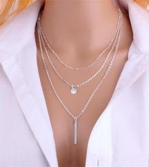 troslijna ogrlica
