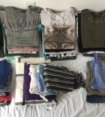 30 komada lično moje garderobe + 3 na poklon