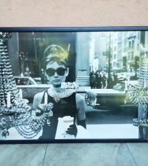 🎀Audrey Hepburn zidna slika