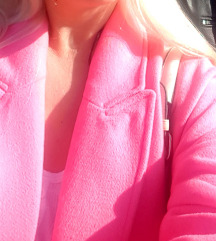 Zara barbi pink kaput 34 vel