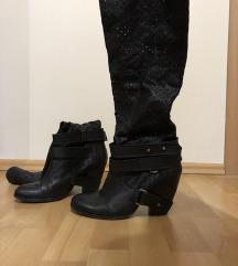 Kozne crne cizme