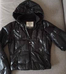 Crna zimska jakna S