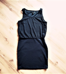 Amisu crna haljina