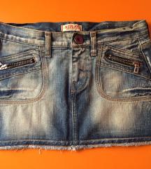 Original Replay teksas suknja xs/s SADA 800!