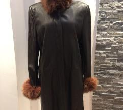 Mona kožni kaput