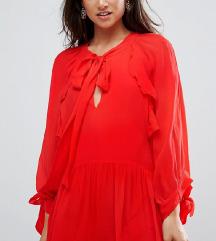 Mango crvena haljina **NOVO**