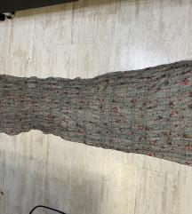 Izuzetno velika siva esarpa marama