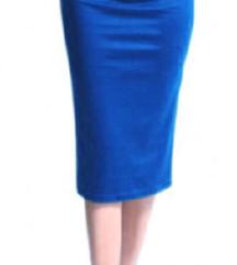 Kraljevsko plava Pencl suknja