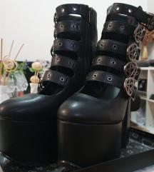 Killstar Burial Platform Boots