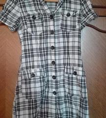 Kariarana haljina-košulja