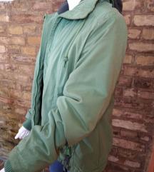 zelena zimska jakna br 40 made by hrc
