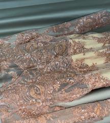 Svecana haljina sivena po meri