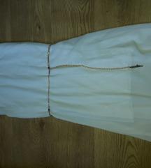 Bela haljina-nova cena 890