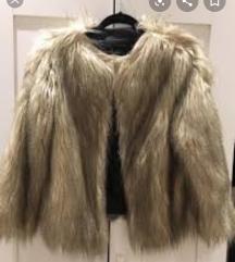 REZ Zara fur faux kratka bundica