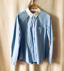 Plava košulja sa belom kragnom 500 RSD