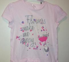 majica za devojcice  116 sa etiketom
