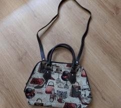 Nova krem torba sa detaljima