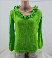 Neon zeleni dzemper vel. S