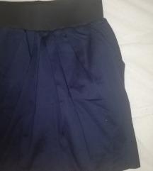Vero Moda plava suknja SNIŽENO