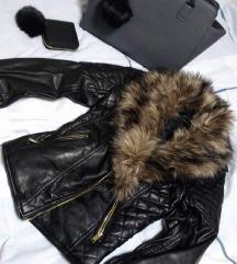 H&M kozna jakna akcija 2000 din!