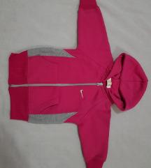 Nike deciji duks pink sa kapuljacom