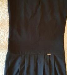 Crna letnja polo haljina