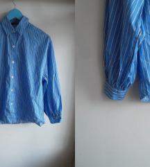 Bershka oversized košulja na pruge, XS-S-M, NoVo