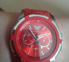 SNIŽENO!NOV crveni ženski sat,prelep,iz Grčke