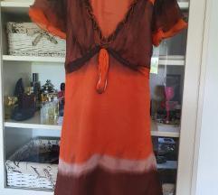 Sinequanone haljina od čiste svile
