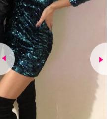 ZARA sljokicava haljina SNIZENJE
