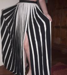 Markirana plisirana maksi suknja Nova