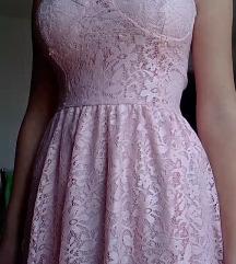 AKCIJA🎀Bebi roze haljina kao nova🎀