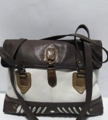 Germany kožna velika torba prirodna 100%koža 38x32