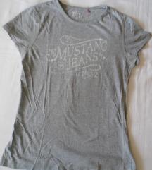 Mustang jeans siva majica