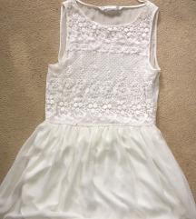 Zara haljinica bela (S)
