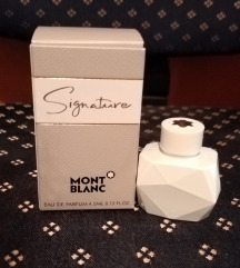 Signature Mont Blanc, novo- REZERVISANO
