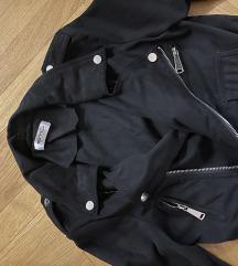 Crna Kozna jakna eco