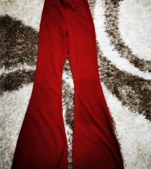 Pantalone duboki uski struk