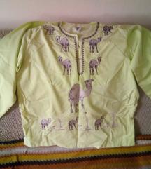 NOVA Zenska tunika iz Egipta limeta boje