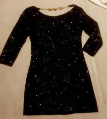 Prelepa svetlucava haljina s/m