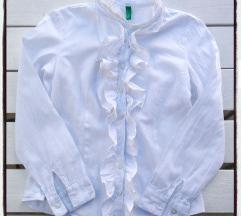 Benetton bela košulja