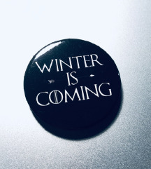 Cool bros WINTER IS COMMING precnika 3,3cm