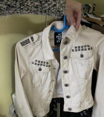 Superstar teksas jakna krem/bež