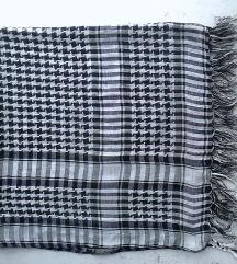 marama crno bela palestinka 98x97 cm
