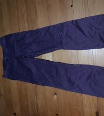 Unisex  ljubicaste pantalone