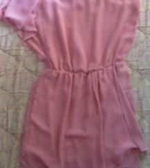 Nezno roze haljinica