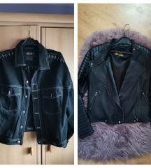 Jakne kozna i Versace+ poklon farmerice i majice
